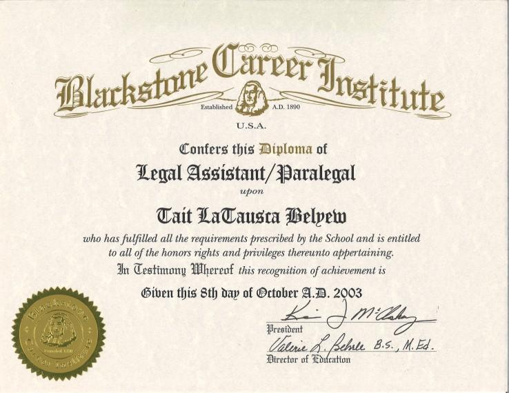 Credentials.